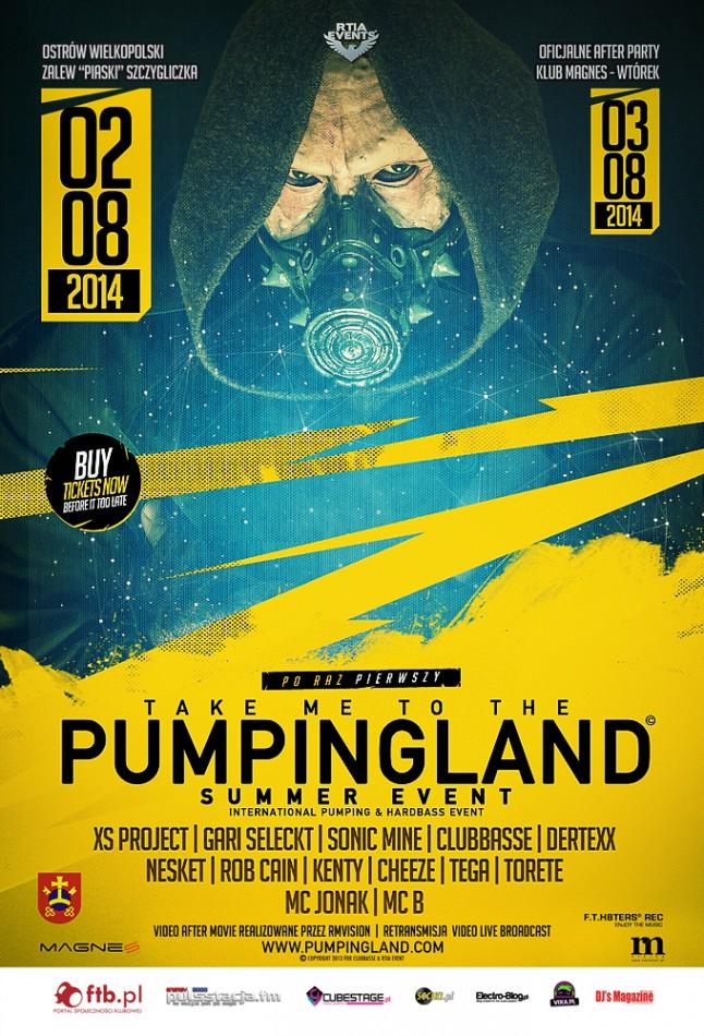 Pumpingland summer event